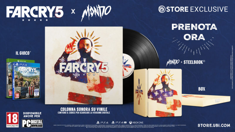 Far Cry 5 x Mondo Limited Edition