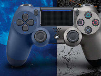 DualShock 4: svelati i controller Steel Black e Midnight Blue