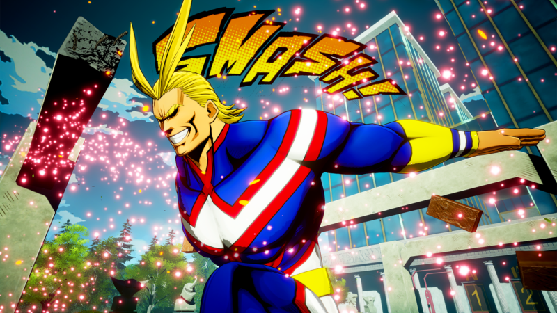 My Hero Game Project: All Might si unisce al cast