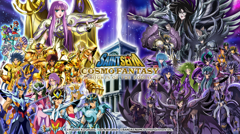 Saint Seiya Cosmo Fantasy celebra i 3 milioni di download