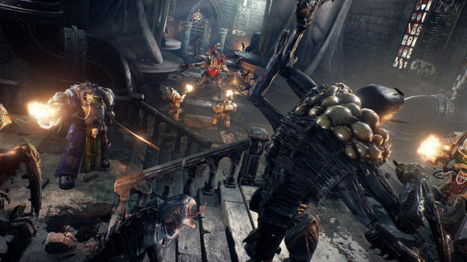 Annunciata la data di uscita di Space Hulk: Deathwing – Enhanced Edition