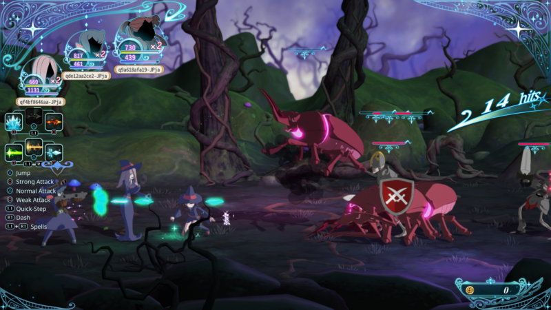 Little Witch Academia CoT: dettagli sul multiplayer