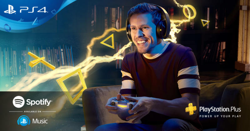 PlayStation Plus: partnership con Spotify