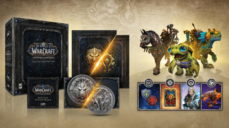 WoW Battle for Azeroth in arrivo il 14 agosto