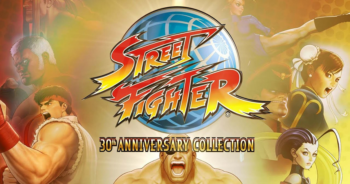 Street Fighter 30th Anniversary Collection disponibile