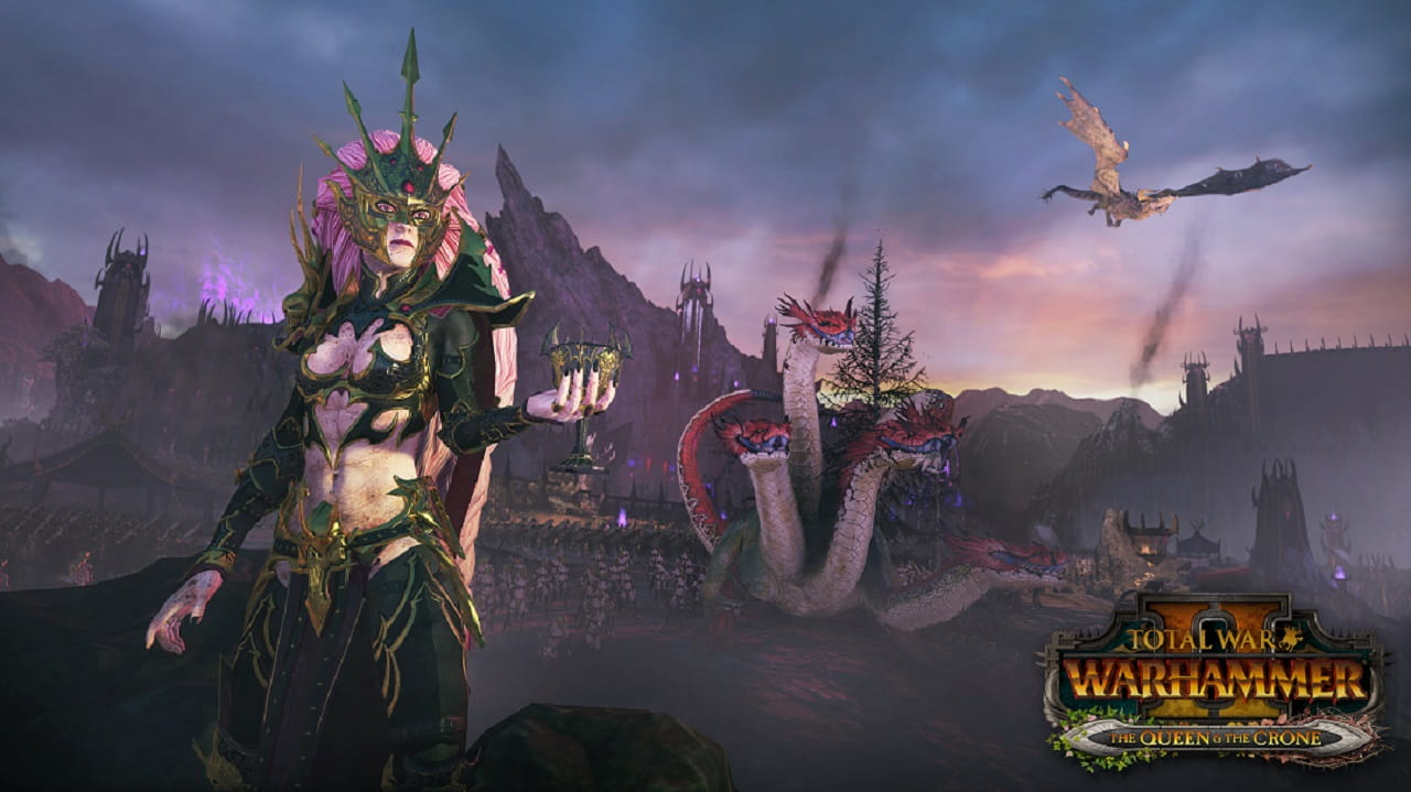 The Queen & The Crone disponibile in Total War: Warhammer II