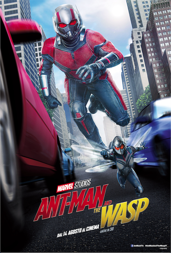 Ant-Man and the Wasp: nuovo poster e trailer italiano