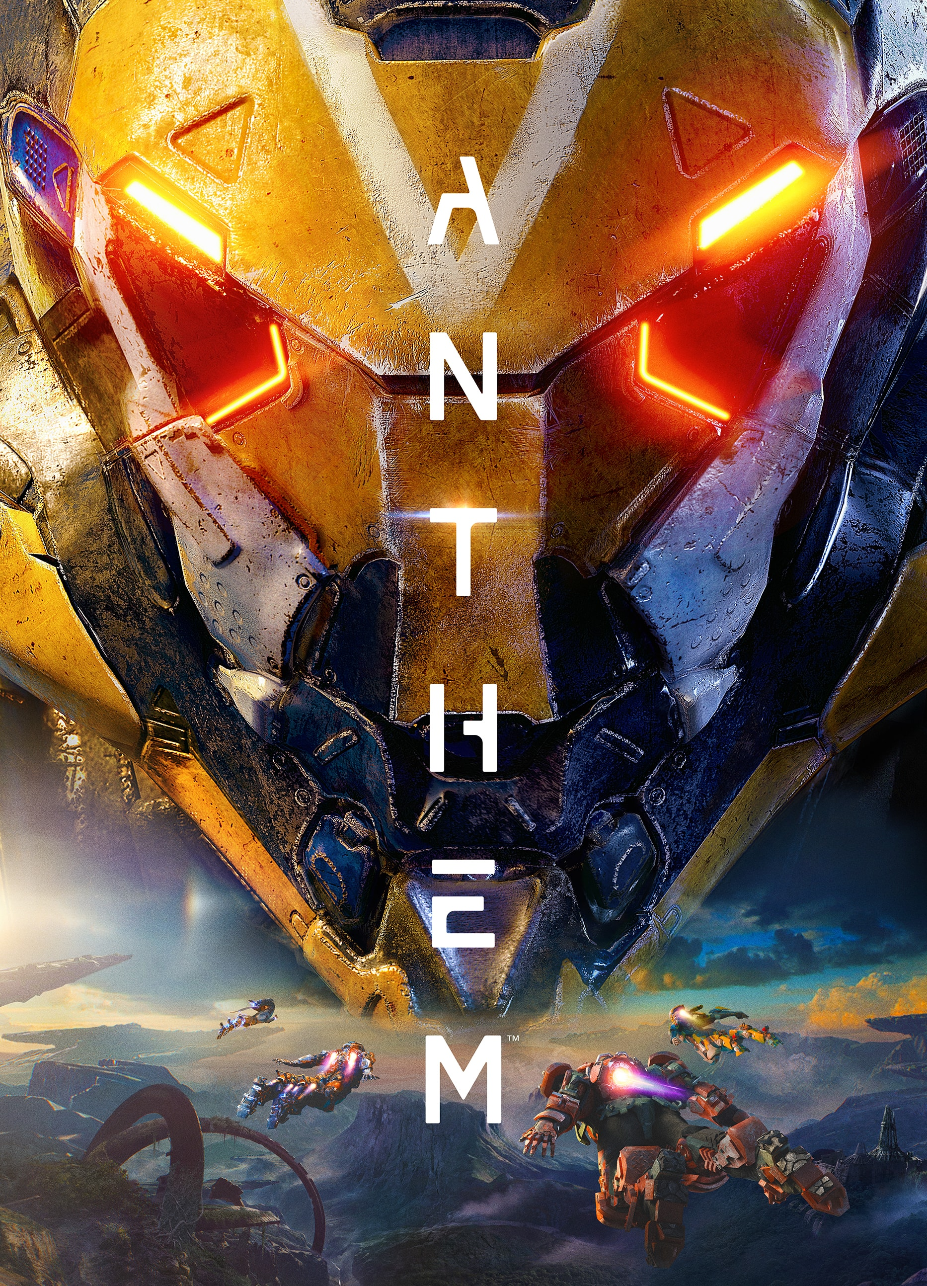 Anthem: BioWare rivela la Key Art ufficiale