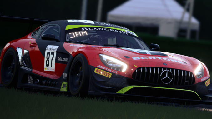 Assetto Corsa Competizione: la tech demo al Misano World Circuit