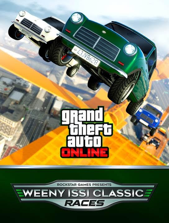 GTA Online nuove gare per Weeny Issi Classic