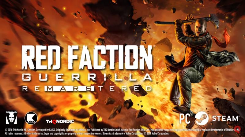 Red Faction Guerrilla Re-Mars-Tered uscirà a luglio