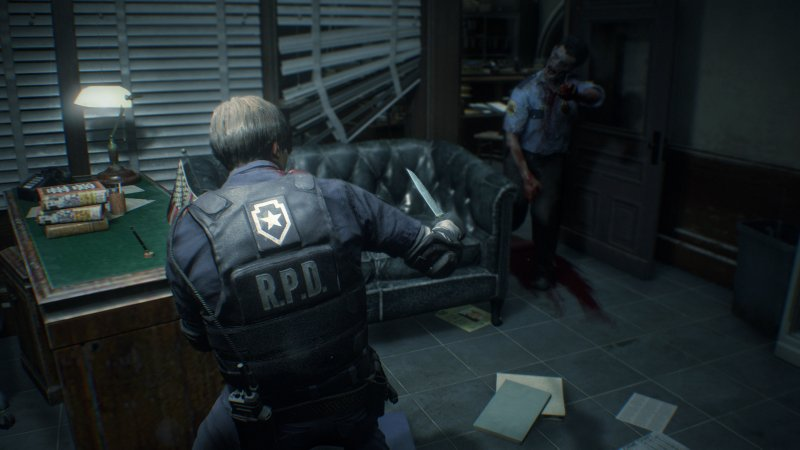 Resident Evil 2: nuovo video gameplay