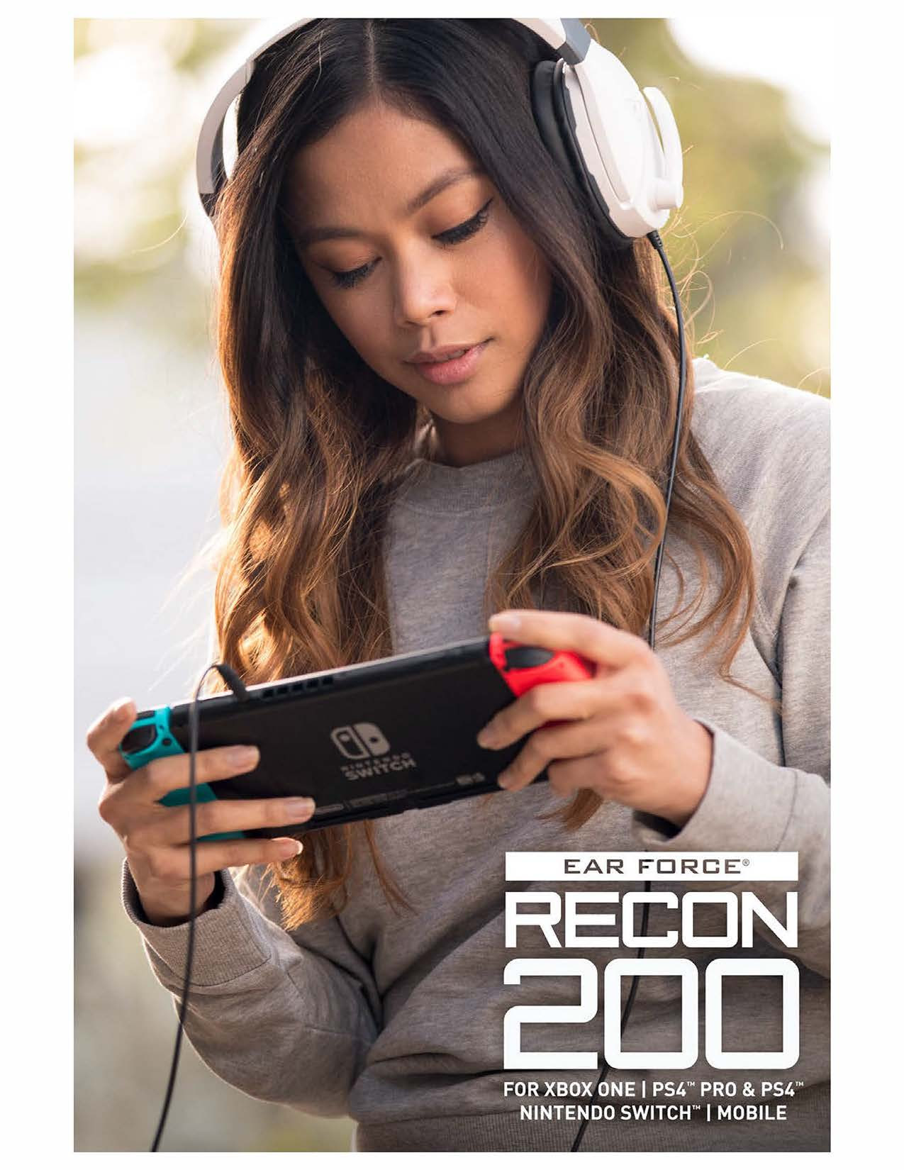 Turtle Beach: le Recon 200 e le Stealth 300 compatibili con Switch