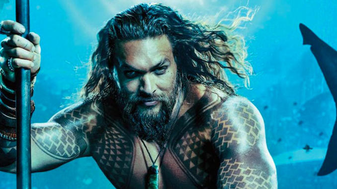 Aquaman - Il primo trailer italiano