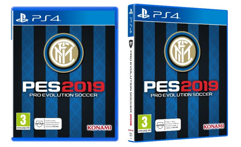 PES 2019: svelata la Inter Edition