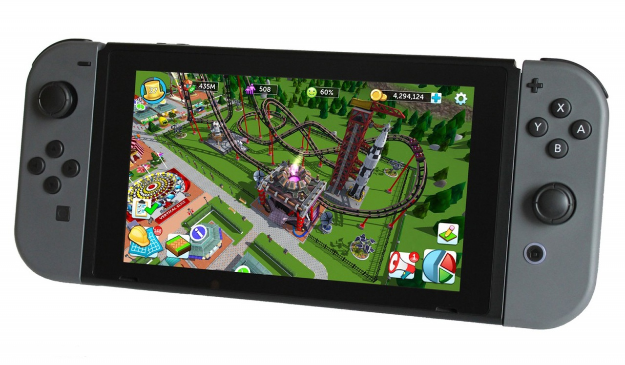 RollerCoaster Tycoon Adventures in arrivo per Switch
