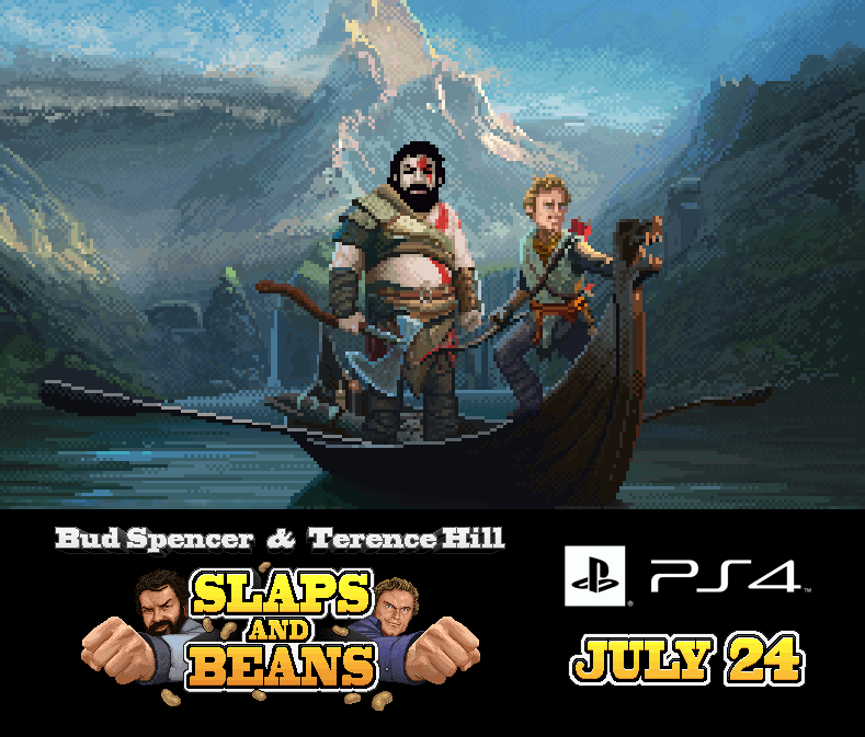 Slaps and Beans: Bud Spencer e Terence Hill arrivano su PS4