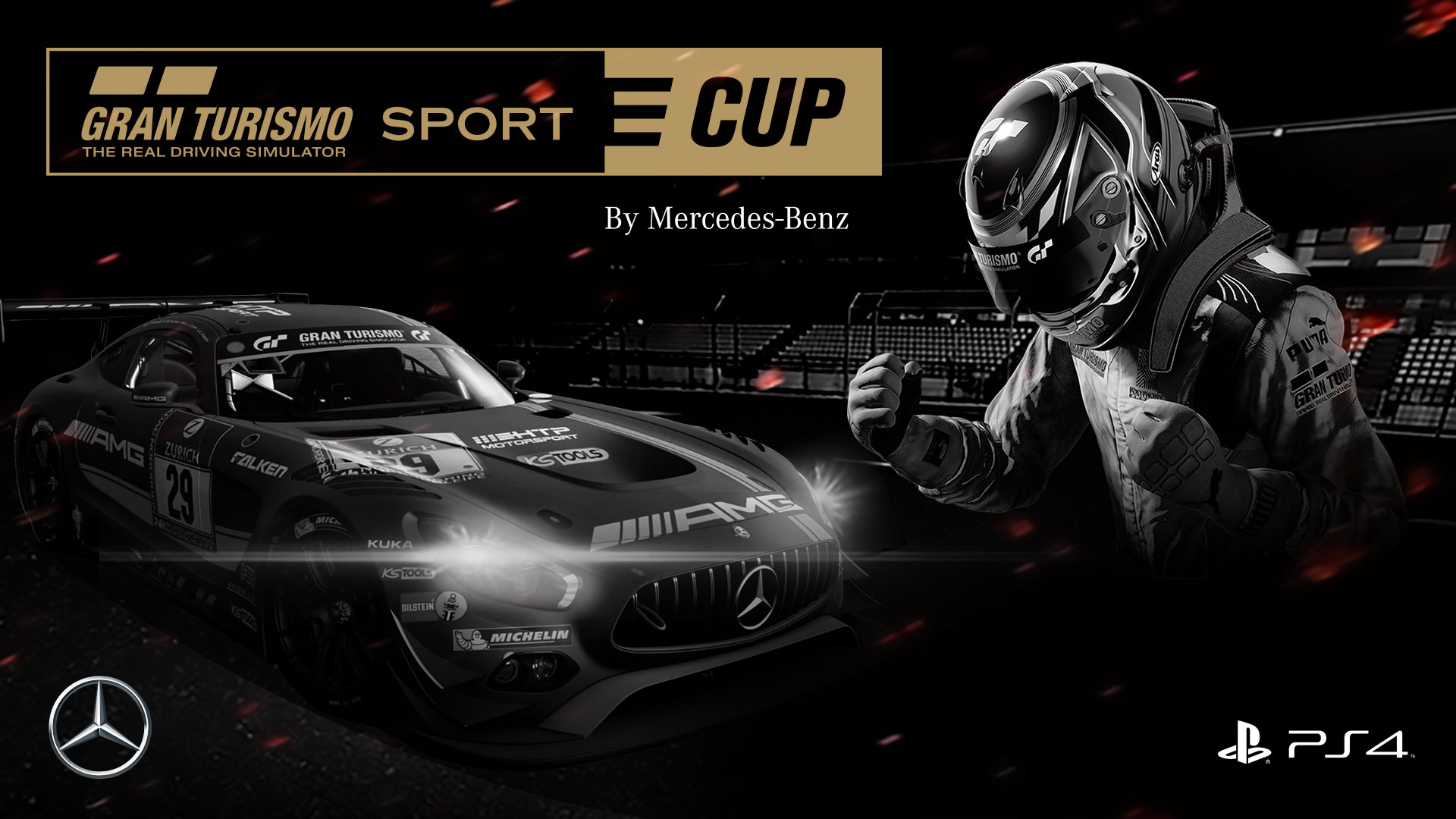 Sony annuncia il GT Sport E-Cup by Mercedes