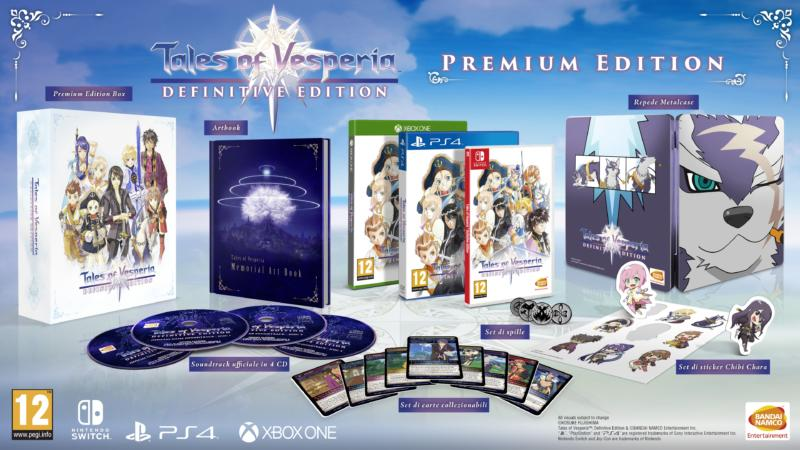Tales of Vesperia: Definitive Edition, la Premium Edition sarà presto prenotabile