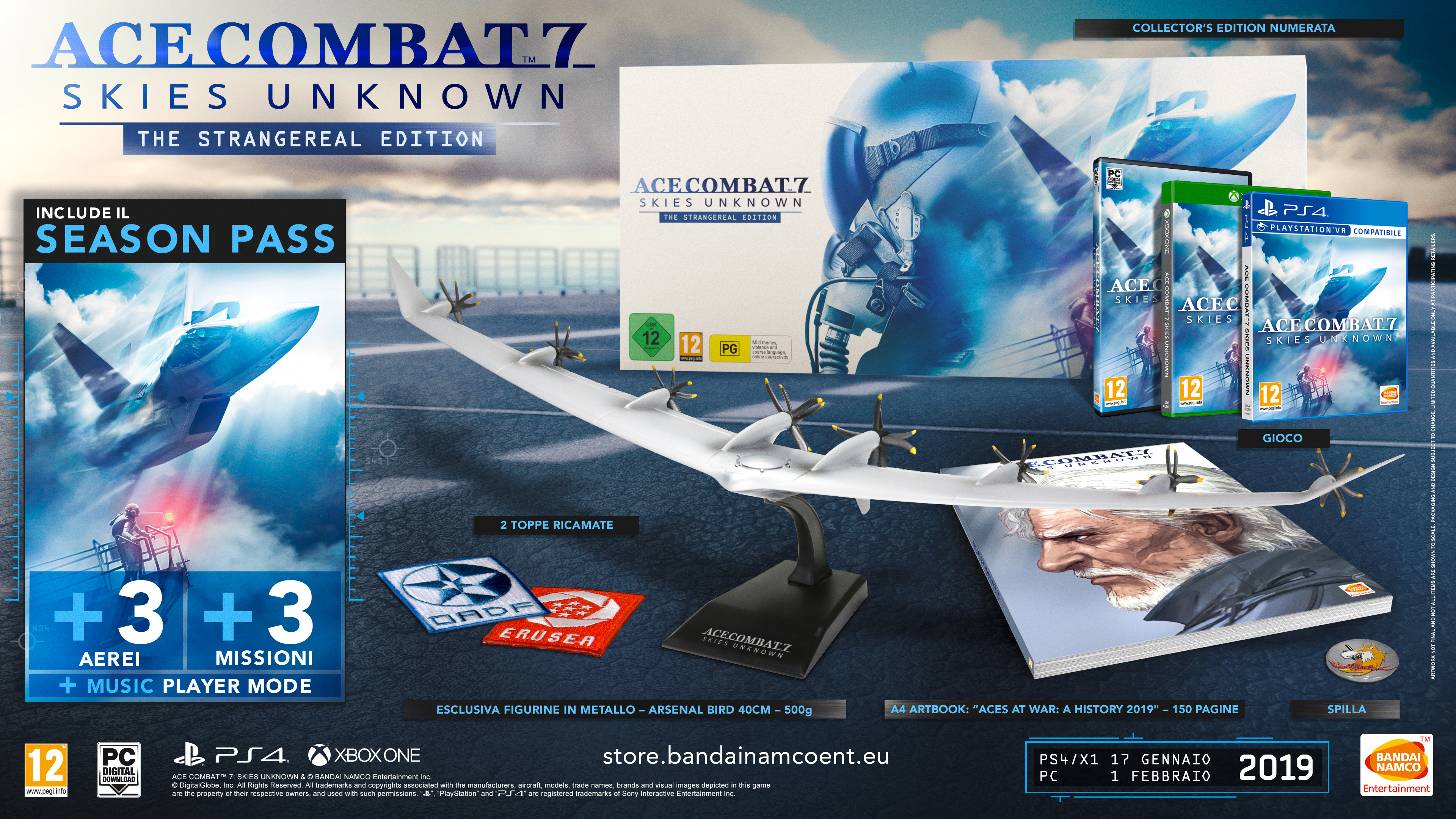Ace Combat 7: Skies Unknown -  La Collector's Edition