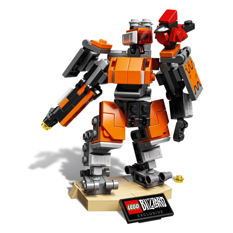 LEGO Overwatch Bastion Omnic in edizione limitata ora disponibile