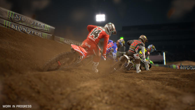 Monster Energy Supercross - The Official Videogame 2 annunciato ufficialmente
