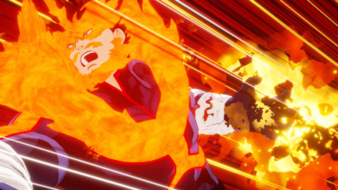 My Hero One's Justice: Endeavor si unisce al roster