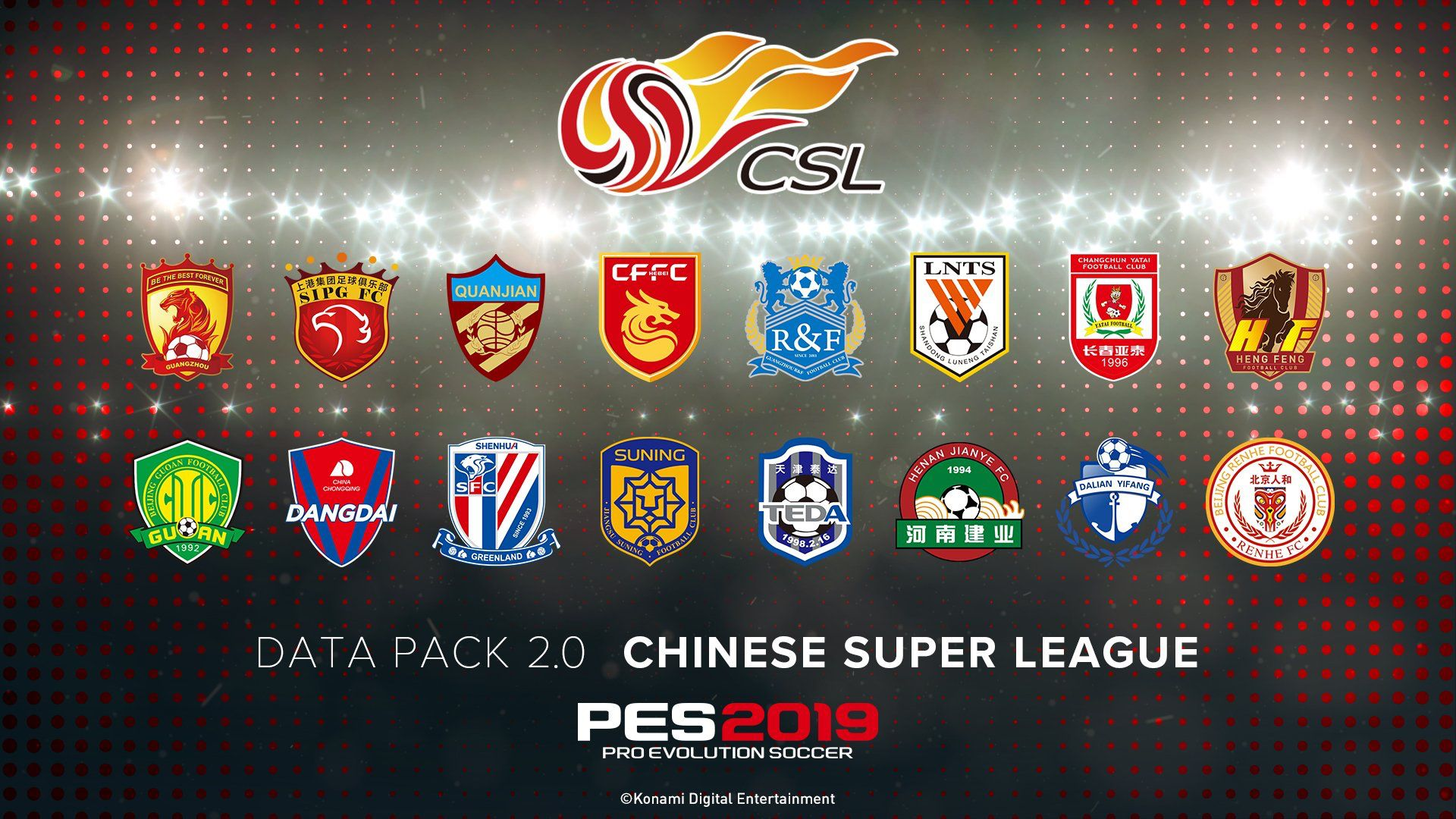 PES 2019: in arrivo il Data Pack 2