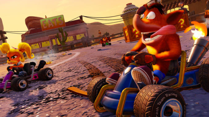 Crash Team Racing Nitro-Fueled annunciato ufficialmente
