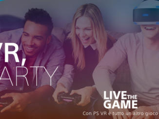 Sony annuncia il contest Party con PS VR
