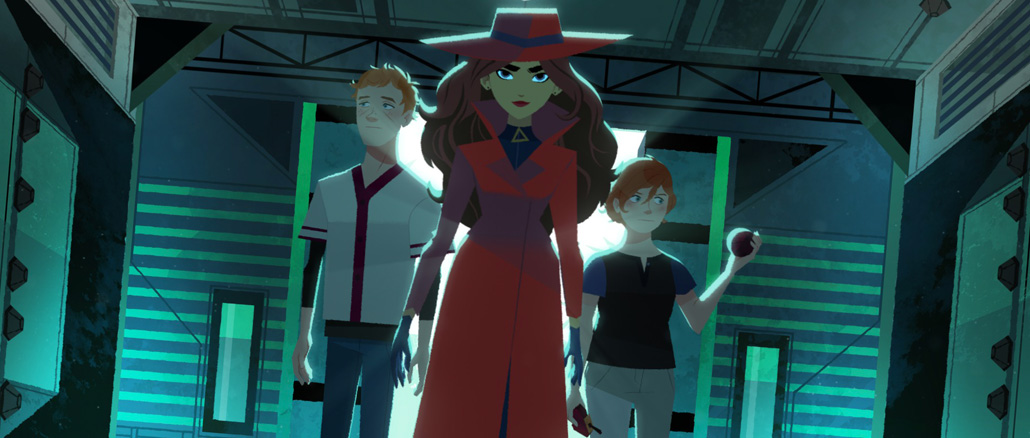 Carmen Sandiego disponibile su Netflix