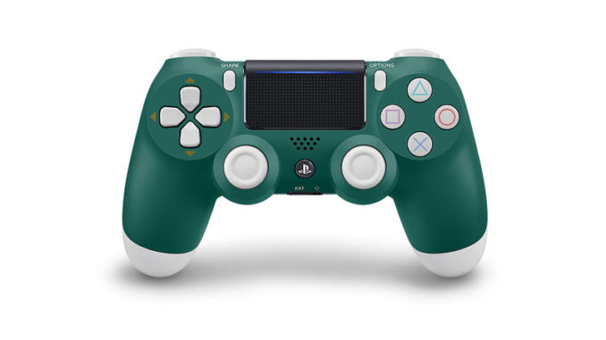 PlayStation 4: prensentato il DualShock 4 Alpine Green