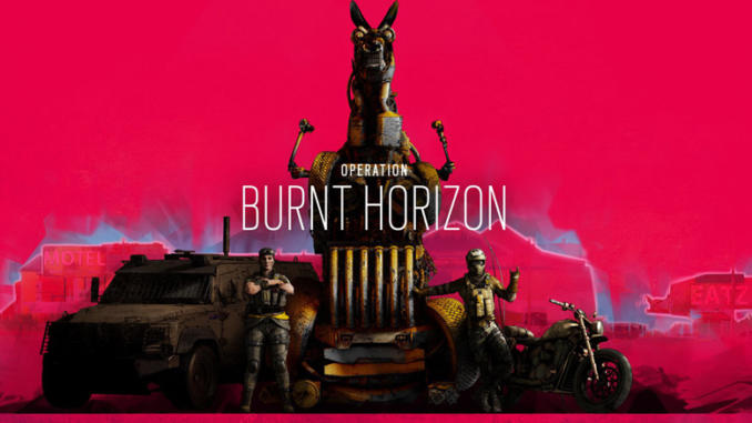 Tom Clancy's Rainbow Six Siege: Operazione Burnt Horizon disponibile