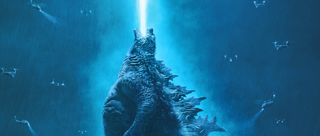 Godzilla II: King of Monsters - poster ufficiale italiano