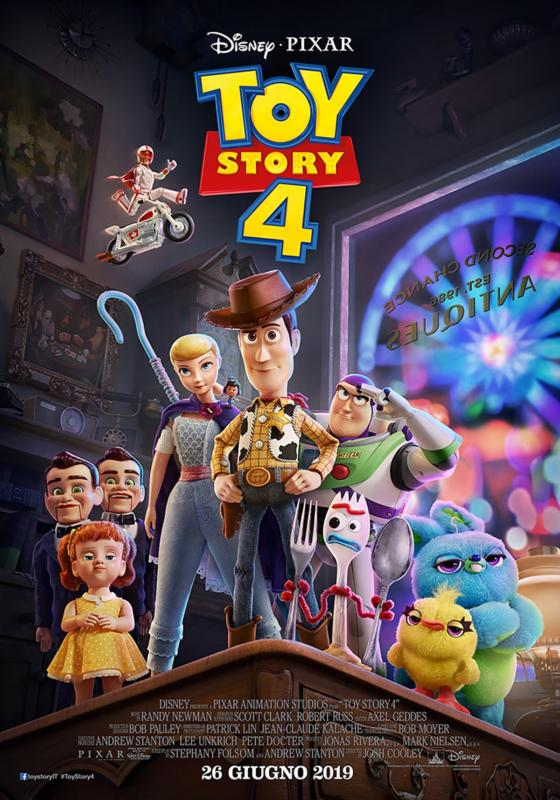Toy Story 4: nuovo trailer e poster