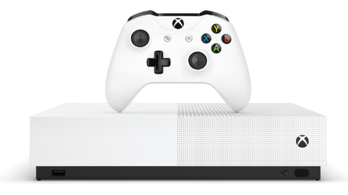 Xbox One S All-Digital Edition annunciata ufficialmente