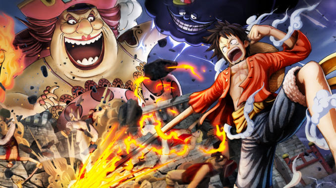 ONE PIECE Pirate Warriors 4 annunciato ufficialmente