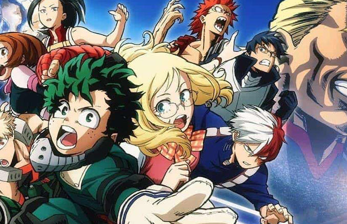 My Hero Academia -The Movie: Two Heroes- Romanzo in arrivo a giugno