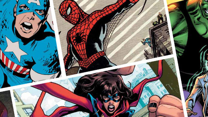 80 anni di supereroi Marvel in mostra