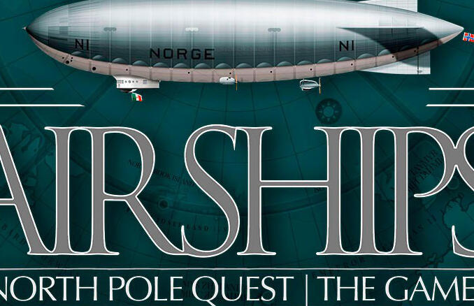 Airships. North Pole Quest | The Game torna su Kickstarter