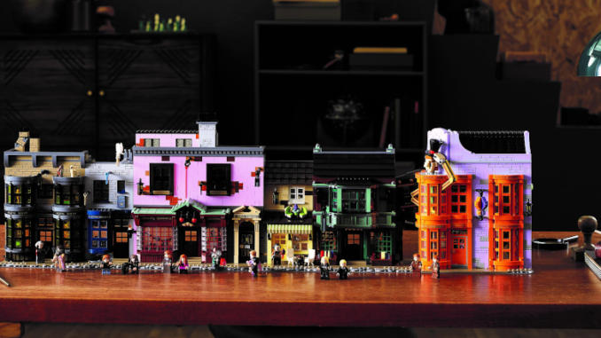 LEGO: arriva il set di Diagon Alley