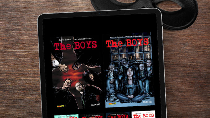 The Boys: Panini presenta l'edizione deluxe digitale
