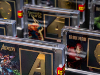 Panini presenta Marvel Icons Black Gold Collection