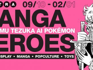Arriva a Milano la mostra Manga Heroes
