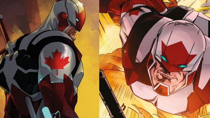Captain Canuck in arrivo per Leviathan Labs