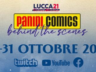 Panini Comics presente a Lucca Comics & Games 2021